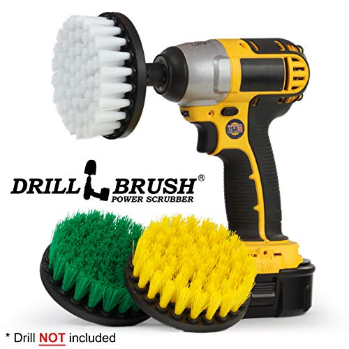 - Drill Brush - Household Cleaning Brush Kit - Kitchen Tools - Stove, Kitchen Sink - Bathroom Accessories - Shower Cleaner - Shower Curtain - Bath Mat - Bidet - Bathtub - Calcium - Grout Cleaner