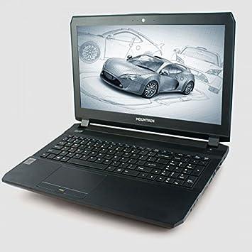 "Mountain Iridium - Portátil DE 15.6"" (Full HD Mate, Intel i7 4710HQ,"