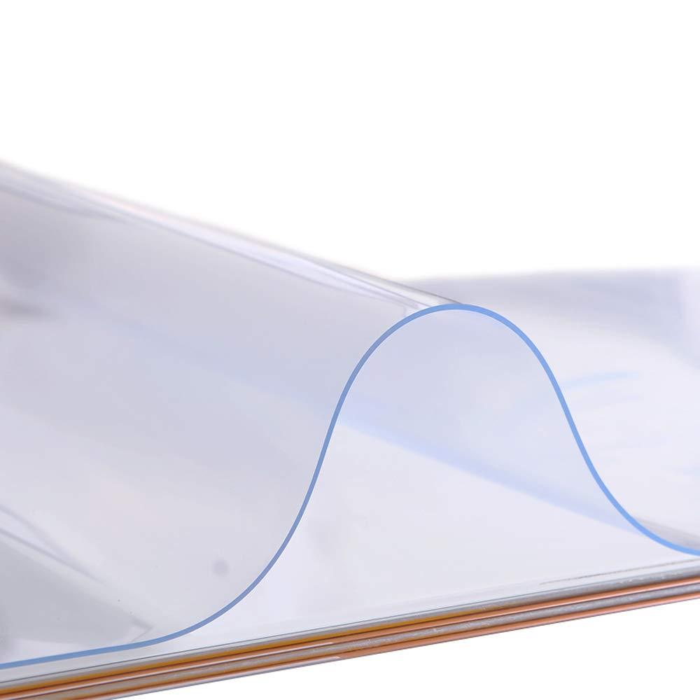 Il protettore della Tabella di copertura di plastica glassata spessa di 1.5mm, la forma di rettangolo di difetto, le stuoie, la forma e le dimensioni del rilievo di Tabella del PVC possono essere pers