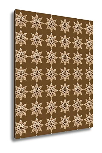 Ashley Canvas Pattern of Thai Style, Wall Art Home Decor, Ready to Hang, Sepia, 20x16, AG104257 by Ashley Canvas