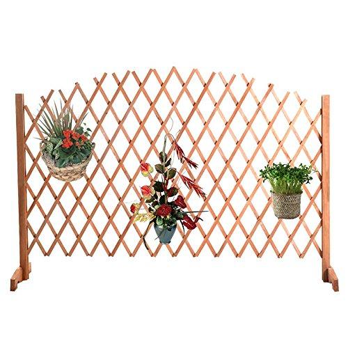 Safstar Free Standing Fence Wooden Expanding Screen Pet Dog Gate Child Kids Barrier by S AFSTAR (Image #6)