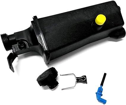 Radiator Coolant Overflow Expansion Tank Bottle Reservoir /& Level Sensor For BMW