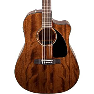 fender limited edition all mahogany cd 60ce dreadnought cutaway acoustic electric. Black Bedroom Furniture Sets. Home Design Ideas