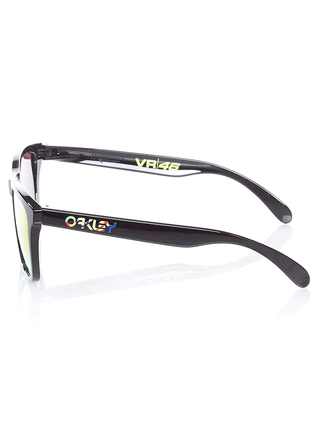 89b792c118 Oakley Polished Black-Prizm Ruby Frogskins - Vr46 Valentino Rossi  Collection Sun (One Size