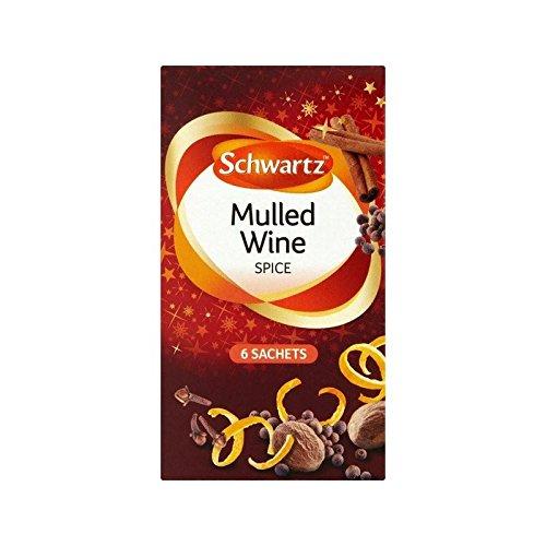 Schwartz Mulled Wine Carton 18g - Pack of 4 by Schwartz