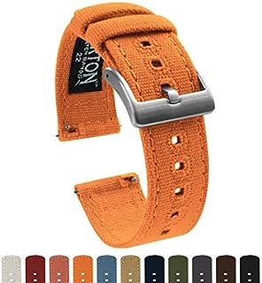 Barton Watch Bands - Correas de tela para reloj de pulsera con cierre rápido - Disponible