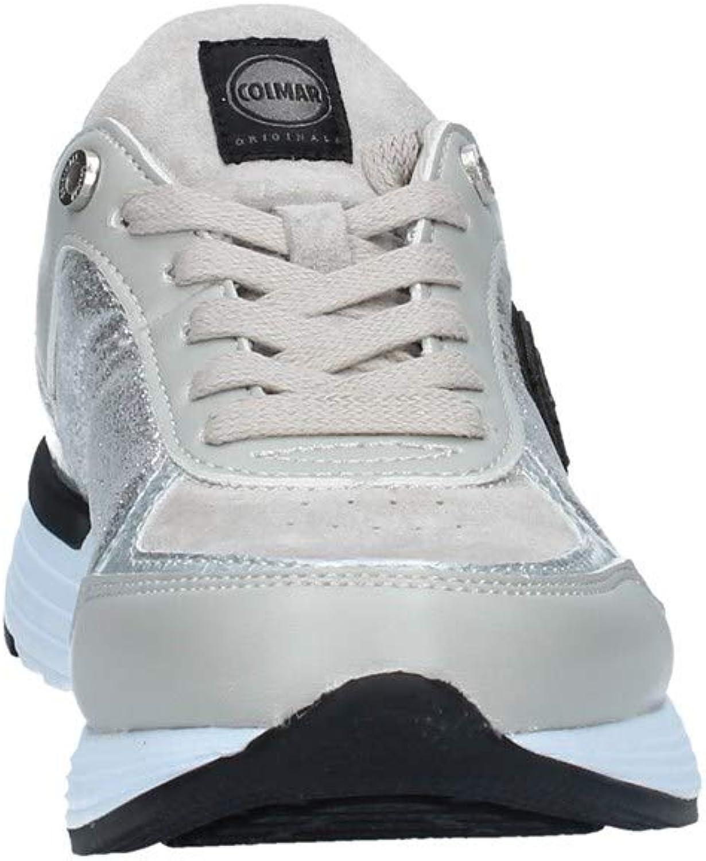 Colmar Originals Travis X1 Gliss 113 Baskets Femmes d'argent Argento
