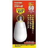 TOSHIBA ネオボールZ A形 60WタイプE17口金 電球色 EFA15EL/13-E17