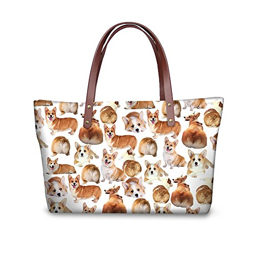 Stylish FancyPrint Bags Handbags Wallets Satchel Handle Women Purse Foldable W8ccc1960al Top UBUAqxZSwR