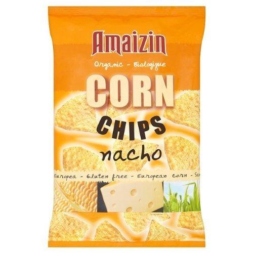 Amaizin Org Corn Chips Nacho 150g - Clf-amz-39111 ()