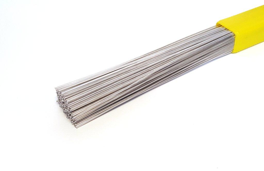 Flux Cored Aluminum Solder ER4047 Brazing Rod - 39'' x 0.080'' (2.0 mm) (4 Lb)