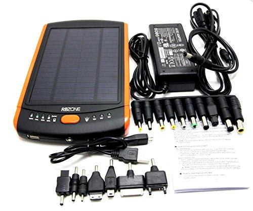 Casewarehouse 23000mAh Multi-Voltage (5V, 12V, 16V, 19V) Universal Solar Power Bank with LED Light (Solar Panel Macbook Charger compare prices)