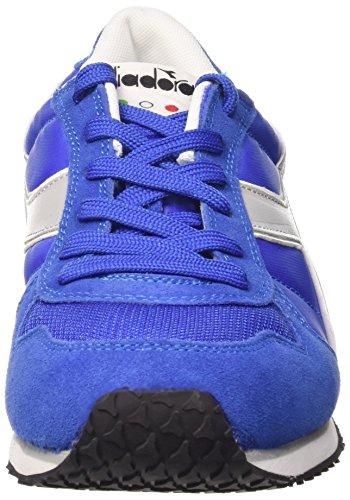 Mixte Diadora Azzurro K Grigio Run Grattacie Adulte Chaussures Scuro 7xUfxg
