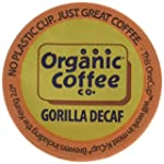 The Organic Coffee Co. OneCup, Decaf...
