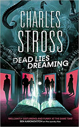 Dead Lies Dreaming - UK cover