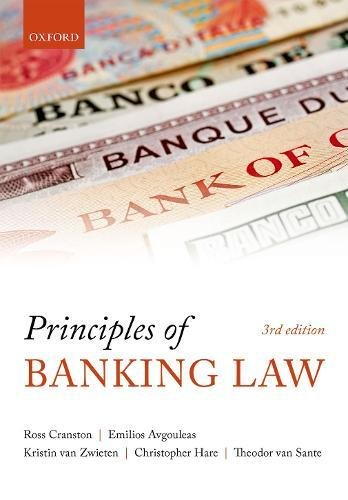 Principles of Banking Law by Oxford University Press