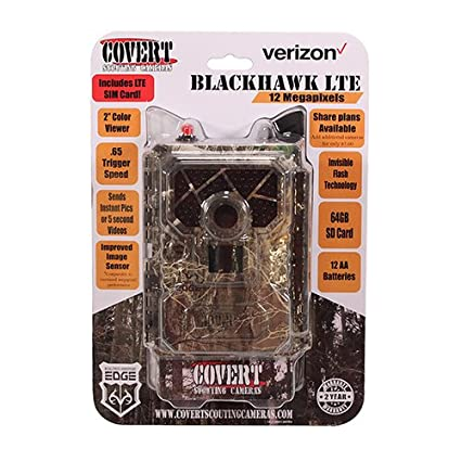 Click image to open expanded view Covert Scouting Cameras Wireless Trail Camera - Verizon Blackhawk Or At&t Code Black - 2