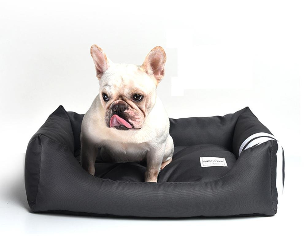 M Dog Bed, Soft Luxurious And Comfortable Cat Dog Bed With Anti Slip Base Comfortable, Breathable RE-008 , m