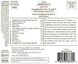 Sibelius: Symphonies Nos. 6 and 7 / 'The Tempest', Suite No. 2