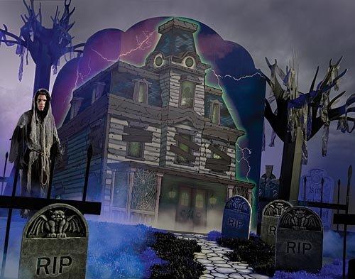 Haunted House Halloween Standee Standup Photo Booth Prop