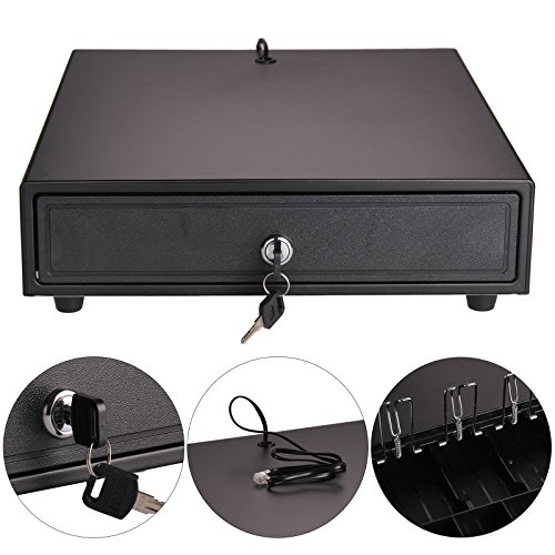 MultiWare Cash Register Drawer Heavy Duty POS Receipt Printer Cash Register...