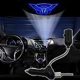 Spoya Blue The Transformers Autobots USB Car dome ceiling CREE LED cigarette lighter logo laser projector light lamp