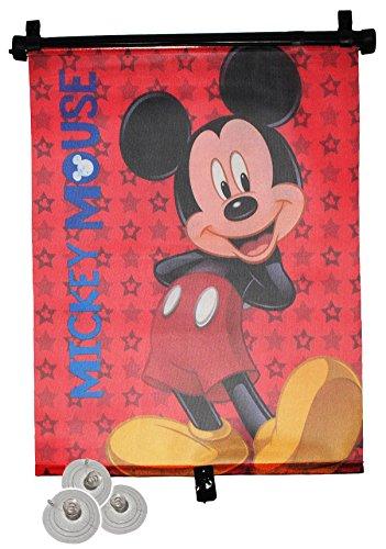 Sonnenschutz Rollo - Mickey Mouse - für Fenster und Auto Seitenscheibe - Sonnenblende - Jungen Mädchen Kinder Baby - Sonnenrollo - Playhouse - Rollos / Fensterblende - Sonnenschutzrollo
