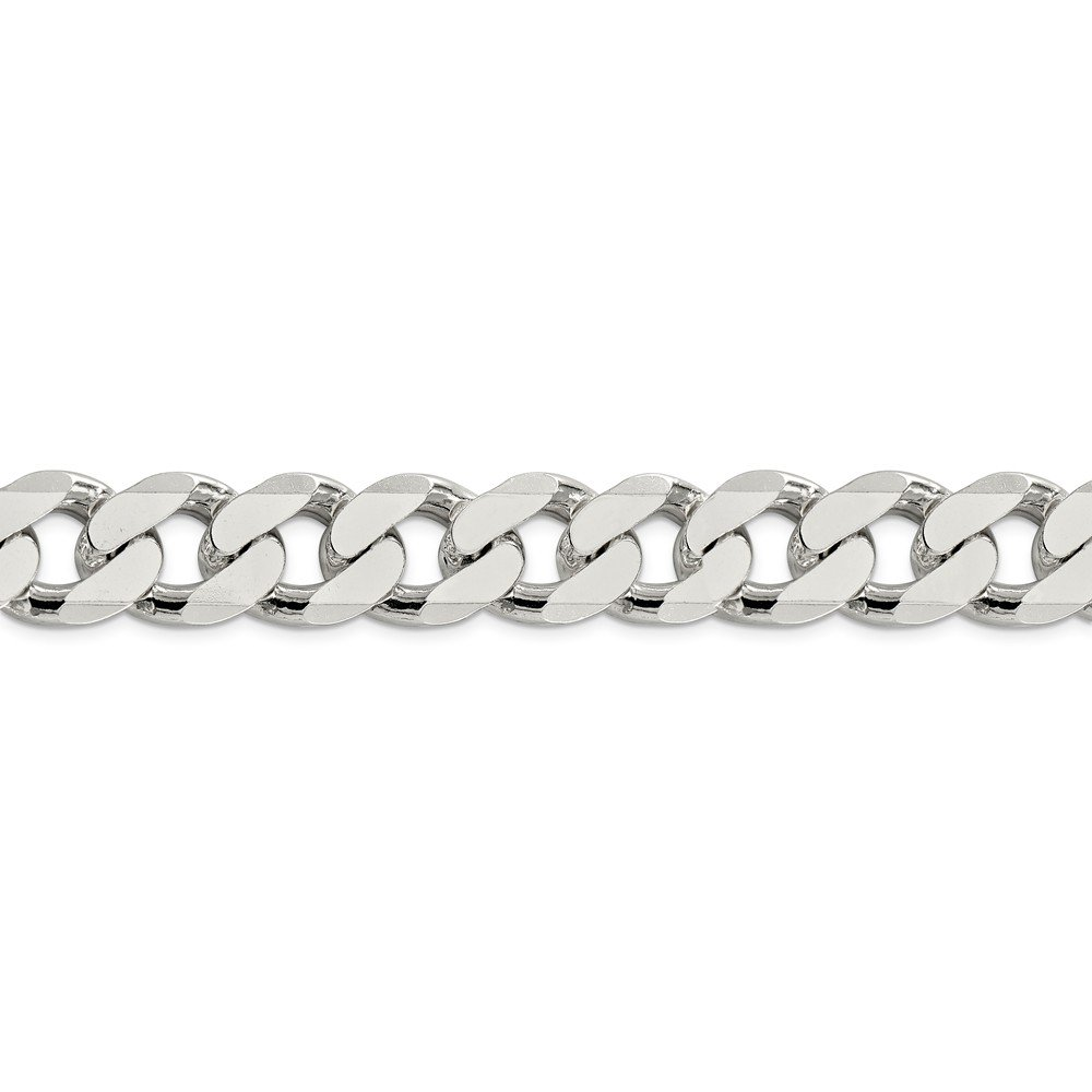 Sterling Silver 16.2mm Curb Chain by Diamond2Deal (Image #2)