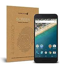Celicious Privacy Plus Google Nexus 5X [4-Way] Filter Screen Protector