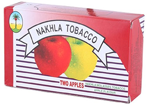 Nakhla Exotic Shisha Molasses Premium Flavors 1kg/1000g For Hookah NonTobacco (Double Apple) by Standpoint (Image #1)
