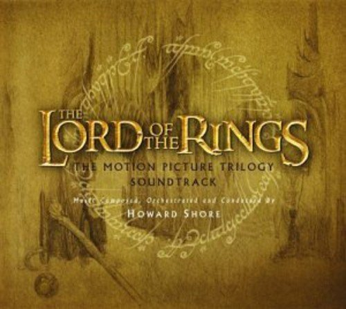 Price comparison product image The Lord of the Rings: Motion Picture Trilogy Soundtrack (3CD & 18 Trading Cards)