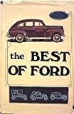 Best of Ford, Mary Moline, 0913444014