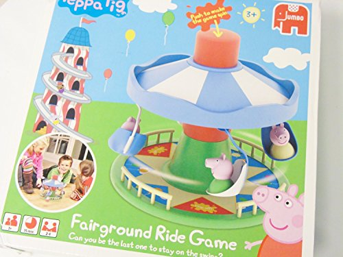 Peppa Pig Fairground Ride Game by Genuine Peppa!