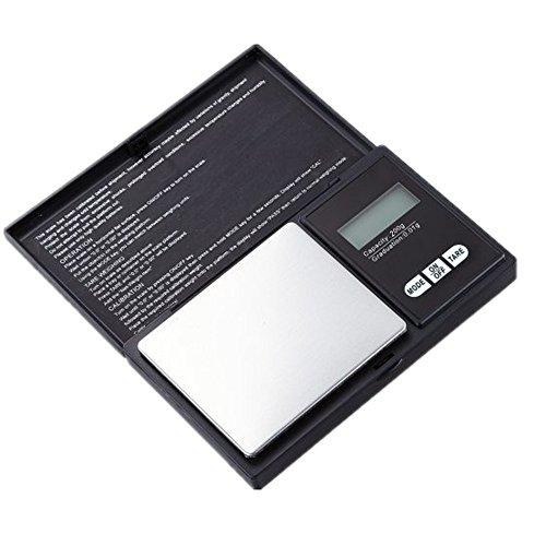 Lljin 200g 0.01g LCD Digital Pocket Scale Jewelry Gold Gram Balance Weight Scale