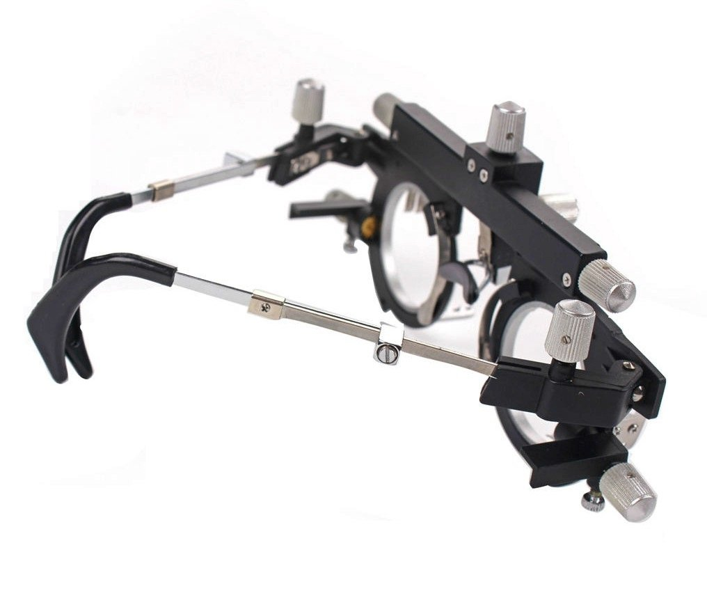 EFK-II Supply Optical Trial Frame Titanium Adjustable Optical Optic Trial Lens Frame by EFK-II Supply (Image #4)