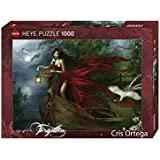 Heye 29389 Cris Ortega, Swans - Puzzle, 1000 piezas (KV&H Verlag)