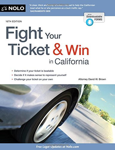 - Fight Your Ticket & Win in California