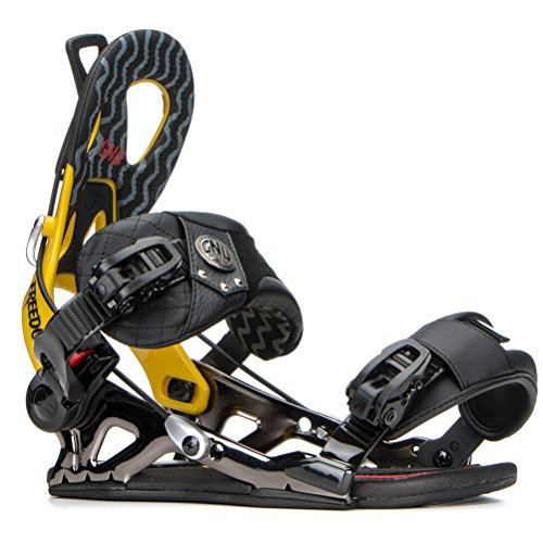 Gnu Men's Freedom Binding 2015 Yellow Bindings XL by Gnu