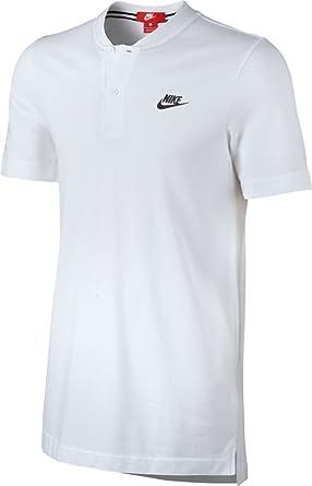 Nike M NSW GSP SS Knt Polo de Manga Corta de Tenis, Hombre: Amazon ...