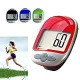 Pedometer, Gotd Large LCD Display Jogging Step Pedometer Walking Calorie Distance Counter,Pedometer for Walking/ Wearable Fitness Tracker for Men Women Kids, Track Steps,Miles with Clip (Pack of 70)