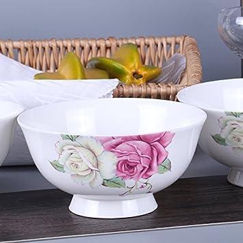 YUWANW - Vajilla de Porcelana China de Hueso para el hogar ...