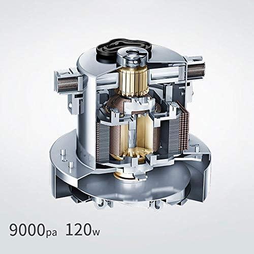 SMLZV Bâton Aspirateur, vertical sans fil Aspirateur, filtre HEPA, 0.8L Coupe poussière, 120W de puissance élevée, jusqu\'à 35 minutes Temps de travail, for la maison et voiture
