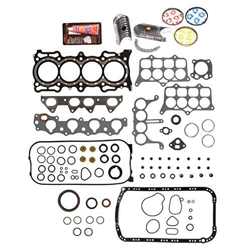 (Evergreen Engine Rering Kit FSBRR4020EVE\0\0\0 Fits 94-97 Honda Accord F22B2 F22B6 Full Gasket Set, Standard Size Main Rod Bearings, Standard Size Piston Rings)