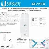 Ubiquiti Network AF-11FX Licensed Backhaul Radio 11 GHz Full-Duplex, Point-to-Point Radio up 1.2+ Gbps Throughput