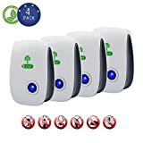 Ultrasonic Pest Repeller (4-Pack), Optimal Pest Repeller Review and Comparison
