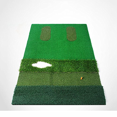 PGM Mutil-functional Golf Practice Mat Driving Range Golf Hitting Mat----3.3ftX4.92ft by PGM (Image #3)