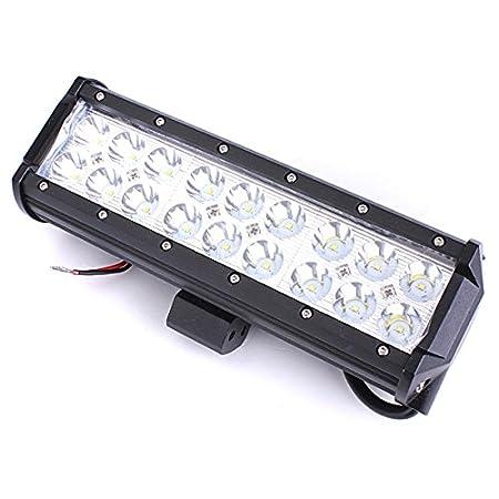 MASUNN 54W 18LEDs Coche Trabajo luz Bar Spot luz Blanca proyector ...