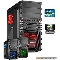 dercomputerladen PC Gaming Sistema Intel, i5-4690 4x3,5 GHz - i5 4690 con nVidia GTX 1060 6GB, mit 8GB RAM und 2000GB HDD
