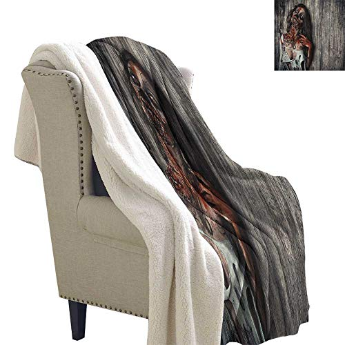 Suchashome Zombie car Blanket Angry Dead Woman Sacrifice