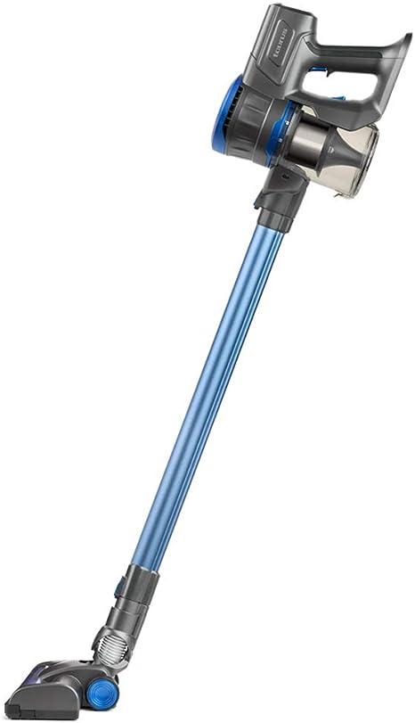 Taurus Ideal Lithium Aspirador de Mano y Lanza Extra Larga, 22.2 V, Cepillo motorizado Brush, Turbo Cyclonic System, 650 ml, Filtro HEPA, Azul, Plastique: Amazon.es: Hogar
